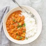 slow cooker vegan chickpea tikka masala