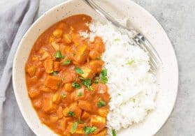 Easy Slow Cooker Vegan Tikka Masala