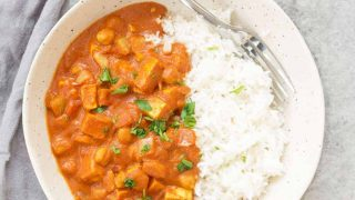 Easy Slow Cooker Vegan Tikka Masala