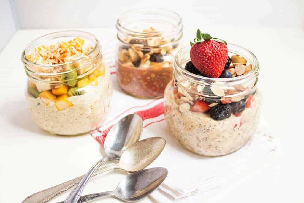 Make ahead breakfast options!