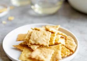 How to Make Sourdough Crackers