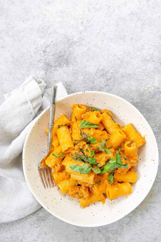 the best easy vegan pasta recipe