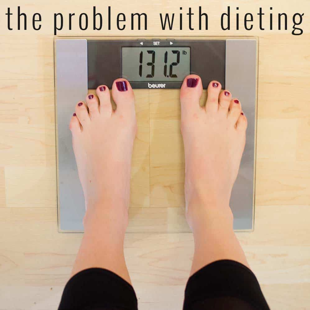 A registered dietitian explains the problem with traditional diets and why you don't need to follow one to lose weight successfully.