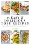 tofu recipes pin