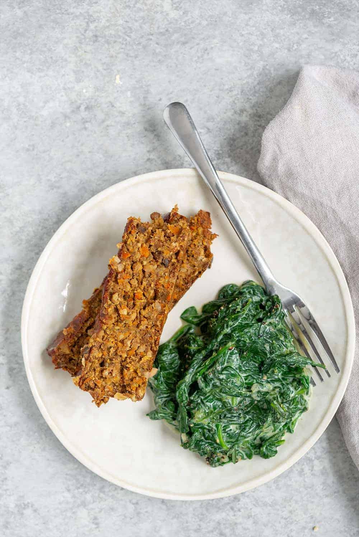 vegan lentil meatloaf