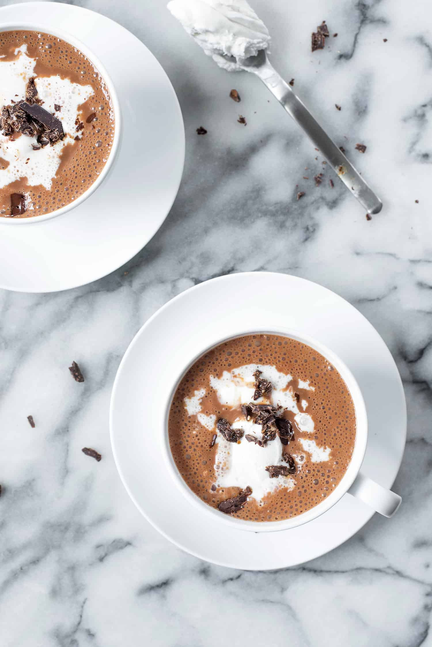 Vegan Mexican Hot Chocolate - Delish Knowledge