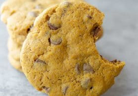 Vegan Pumpkin Chocolate-Chip Cookies