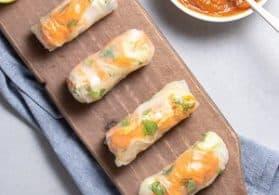 Vegan Vietnamese Tofu Spring Rolls