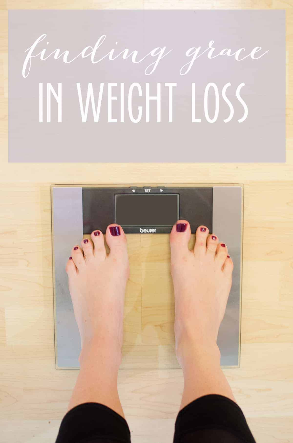 Finding Grace in Weight Loss. 4 proven strategies to finding compassion in the weight loss journey. A must-read for anyone with a long-term goal!