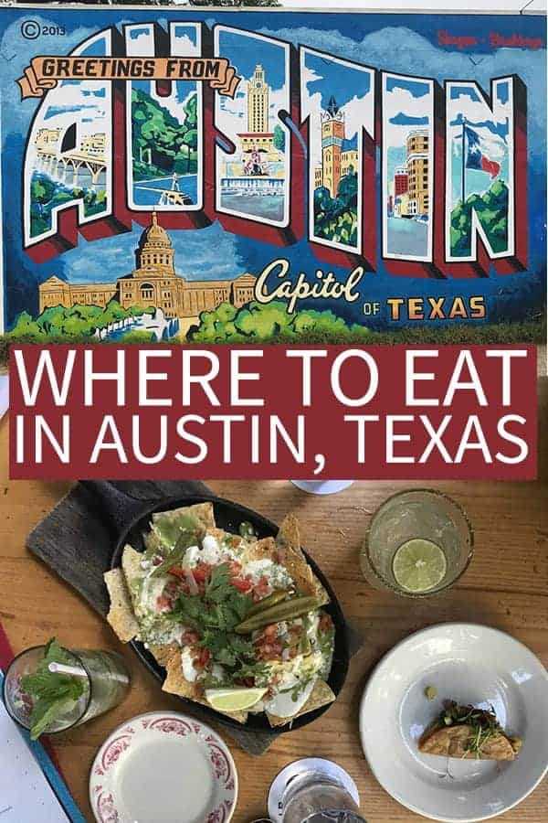 where to eat in Austin, Texas